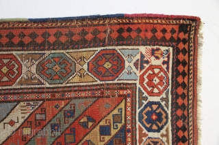 Dagestan Rug, Some low pile area´s, 212 x 120