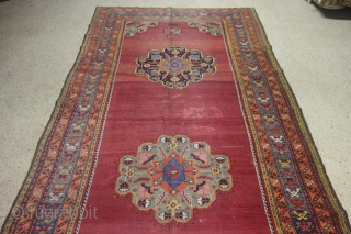Karabag Size: 175 x 453 cm, good condition,