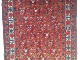 ANTIQUE AFSHAR. WELL PRESERVED.