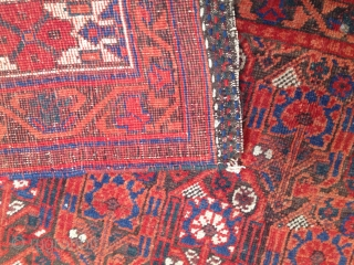 ANTIQUE AFSHAR. WELL PRESERVED. 167 cm x 126 cm  Thanks for watching my other offered lots