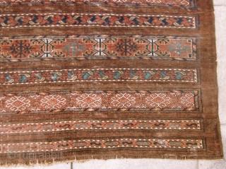 LARGE ANTIQUE 19.CENTURY ERSARI CHUVAL 100 X 152 cm