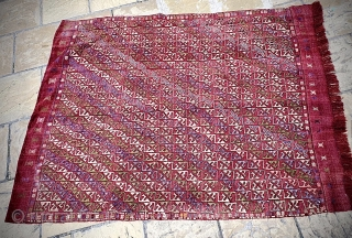 Anatolian cicim cover. Good condition, no excessive wear / repairs. Size: 230cm x 165cm