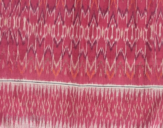 19th Century textile, CEPUK cloth, Bali, Indonesia, Silk. Size: 115cm x 75cm. Good condition.
