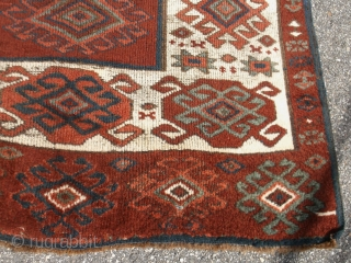 Large Kurd / Eastern Turkish rug......approx. 4.5 x 9.5.....very nice shape......checks drawn on U.S. banks preferred......by request.......Thanks, Ed.