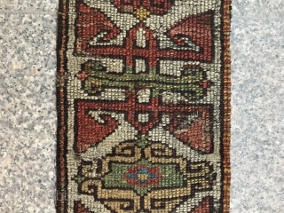 Rug fragment size 110x22 cm