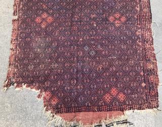 West Anatolian yüncü kilim 192x134 cm  include shipping cost