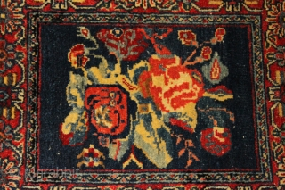 small rug looks perfect natural colors are the perfect fine and tightly woven 19th century  size 0.60cm x 0.50cm