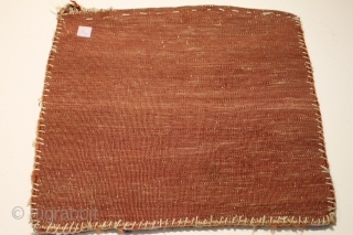 small Baluch bagface Natural colors 19th Century Size 0.60cm x 0.52cm