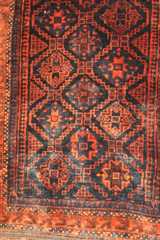 Baluch Balisht Natural colors 19th Century Clean and hand washed size 1.12 x 0.65