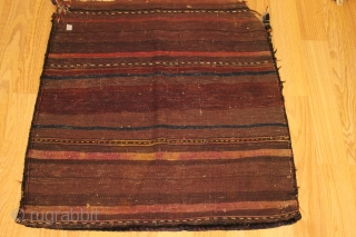 Baluch Bagface Natural colors 19th Century  Good condition Clean and hand washed size 0.82cm x 0.80cm