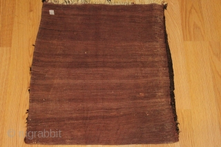 Baluch bagface circa 1900 Natural colors original back complete Clean and hand washed Size 0.60cm x 0.52cm