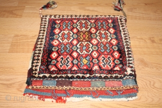 Wonderful persian  bagface  Natural colors Good Condition 19th Century.Clean and hand washed . size 0.40cm x 0.37cm
