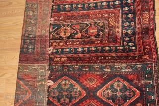 persian Rug.19th Century size 1.15cm x 0.88cm