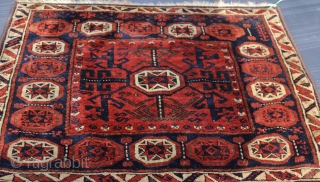 Wonderful Antique baluch Bagface . natural colors . good condition . finely woven . not washed yet . silky wool . original piece . size 0.60cm x 0.75cm