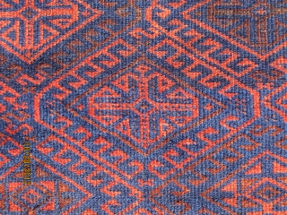 """Terrific Baluch rug, circa 1880, measuring 5'-9"""" x 3'-2"""", with great wool, in good condition."""