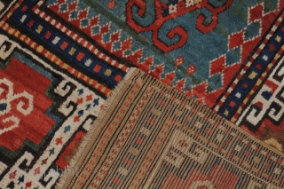 Moghan carpet, 19th century, extremely beautiful and very antique item