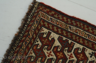 Rare Schahsavan flatweave, antique, ca. 70 x 50 cm