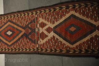 Turkmenisches Zeltband in Originallänge In very good condition!