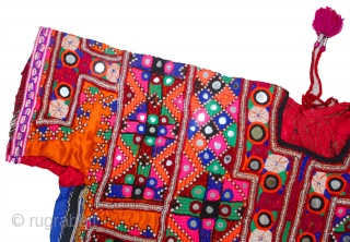 free shping worldwide..... thank you for visiting here....... banjara very old vintage hand hard embroidered multi color dress for women - Ethnicbanjaramart These are vintage items and not new. So, please do  ...