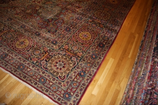 tehran, palace size rug 15 feet by 21 feet. mint condition.