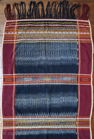 Sumatra | Batak Ikat Shoulder-cloth (Bintang Maratur)