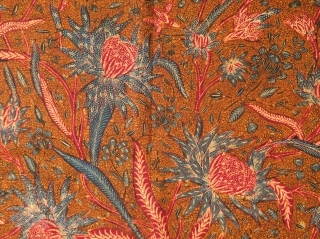 Javanese Batik Breastcloth made in 3 States (Kemben Batik Tiga Negeri)