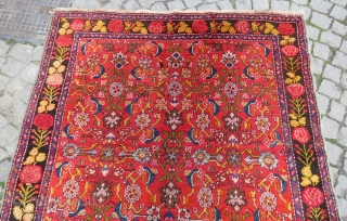 Caucassian Karabag rug wonderful colors and excellent condition all original size 3,85x1,60 cm Circa 1900