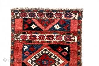 Rare Uzbek napramach. Measures 96cm x 39cm In perfect condition. All natural colours.