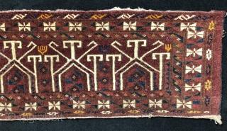 Turkmen Ersari Torba Size 36x139 cm / 1'2'' x 4'6''