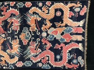 Tibetan Dragon Rug 88x150 cm / 2'9'' x 5'0''