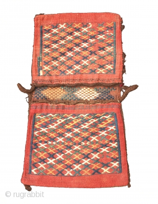 Persian 19th Century Small Heybe Size 53x28 cm