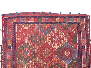 Caucasian 19th Century Verneh Chuwall (Sack) Size 98x88 cm