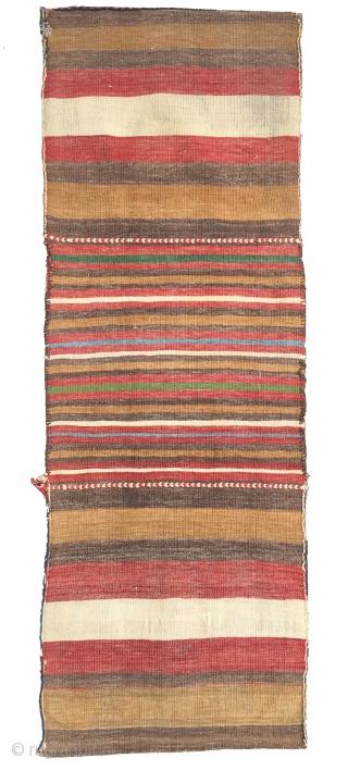 Caucasian 19th Century Heybe Rug Size 136x49 cm