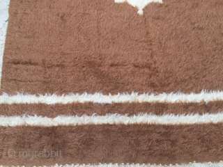 Anatolian Siirt Blanket Size 191x142 cm