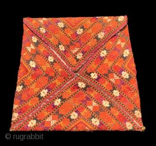 Uzbek Silk Bohca Size 27x17 cm