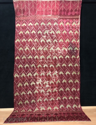 Antique Phulkari Size 133x260 cm /  4'4'' x 8'6''