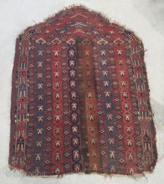 Turkmen Yomud Salatchak Rug Size 125x95 cm