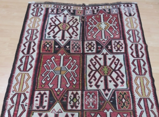 Caucasus Kuba Kilim Size 152x306 cm / 5'0''x10'1''