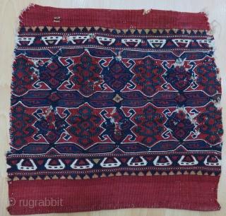 West Anatolian Yüncü Bag Face Size 37x39 cm / 1'2''x1'3''