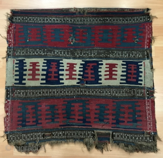 Caucasian Kilim Chuwall (Sack) Size 90x171 cm / 2'9''x5'7''
