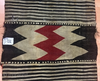 Antique Caucasian Zakatala Saddle Bag (Heybe) Size 75x173 cm / 2'5''x5'7''