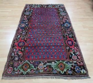 Caucasian Karabagh Rug Size 125x233 cm / 4'1''x7'7''