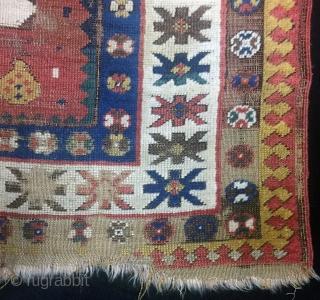 Caucasian Kazak Rug Size 120x194 cm / 4'0''x6'4''