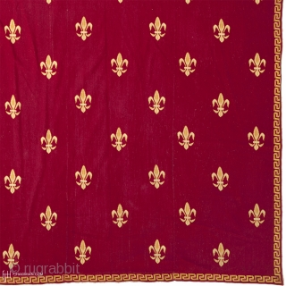 Antique French Needlepoint Rug