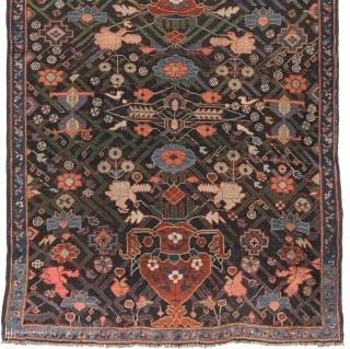 """Antique Kuba Caucasian Rug Caucasus ca.1875 9'0"""" x 3'8"""" (275 x 112 cm) FJ Hakimian Reference #11223"""