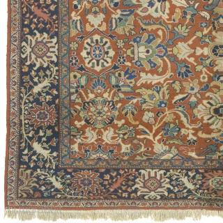 "Antique Persian Mahal Rug Persia ca.1920 12'4"" x 8'11"" (376 x 272 cm) FJ Hakimian Reference #06131"