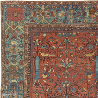 """Antique Persian Sultanabad Rug Persia ca. Late quarter 19th Century 18'3"""" x 12'11"""" (557 x 394 cm) FJ Hakimian Reference #06197"""