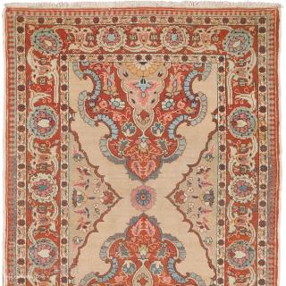 "Antique Persian Tabriz runner Persia ca.1900 19'1"" x 2'8"" (582 x 81 cm) FJ Hakimian Reference #12014"