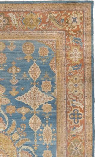 "Antique Persian Ziegler Sultanabad Rug Persia ca.1870 23'5"" x 14'5"" (715 x 440 cm) FJ Hakimian Reference #06038"