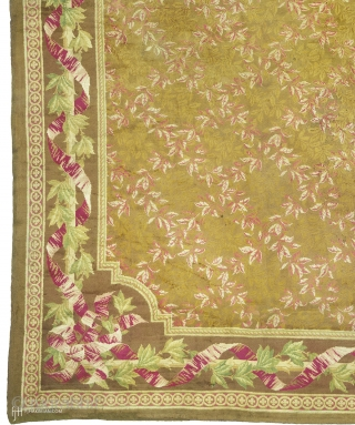 "Antique English Axminster Rug England ca. 1830 24'6"" x 16'9"" (748 x 511 cm) FJ Hakimian Reference #03320"